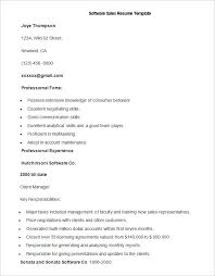 Resume Examples In Word Format by Sales Resume Template U2013 41 Free Samples Examples Format