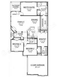 strawberry fields narrow floor plan ranch house plan