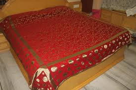 buy nayasha fab india fancy wedding double bedsheet online