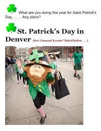 unusual saint patricks day events