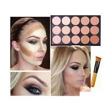 Makeup Contour 15 colors concealer palette kit with brush makeup contour palette 2