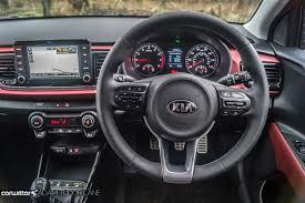 kia steering wheel 2017 kia rio review carwitter