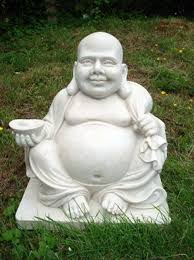 laughing buddha large garden statues