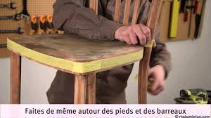 renover une chaise repeindre une chaise bistrot