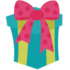 open birthday present clipart clipart library free clipart
