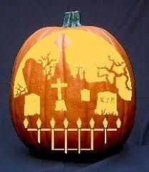 Free Scary Halloween Pumpkin Stencils - free halloween pumpkin carving patterns templates and stencils