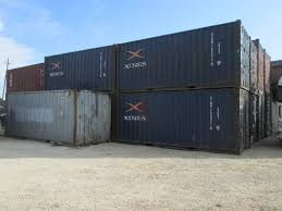 20 foot u0026 40 foot steel containers