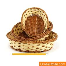 Jual Keranjang Parcel Kecil tempat tissue anyaman rotan bambu daftar harga terbaru