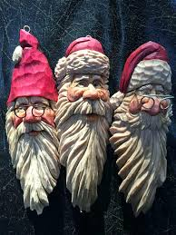 wood carved santa ornaments ornaments ideas wood store decor wood