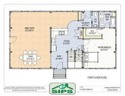 cottage open floor plans open concept cottage plans barn house open floor plans exle of