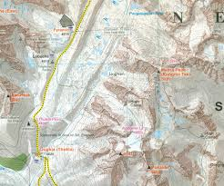 Map Of Nepal And Tibet by Mt Everest From Tibet And Nepal Climbing Map The Bmc