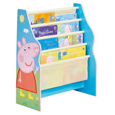 Peppa Pig Room Decor Peppa Pig Sling Bookcase Hellohome Worlds Apart