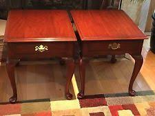queen anne end tables antique tables post 1950 in type end table material cherry ebay