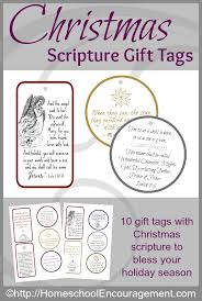 free christmas scripture gift tags proverbial homemaker
