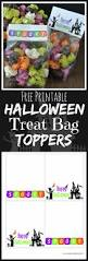 halloween toppers spooktacular treat bag toppers easy peasy pleasy