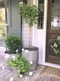best planters best 25 front porch planters ideas on pinterest front door porch