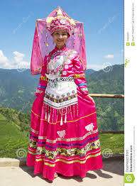 ethnic in traditional dress photography