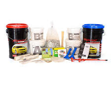 shop epoxy paint at lowes com epoxy coat 2 part gray with clear coat high gloss garage floor epoxy