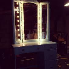 Folding Vanity Table Bedroom Wonderful Ideas Of Vanity Mirror With Lights For Bedroom