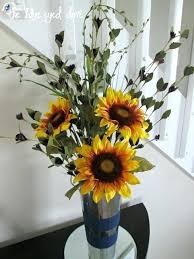 sunflower arrangements flower arrangements in jars flower arrangements for