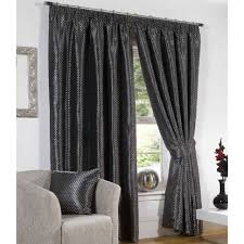 Silver Black Curtains Curtain Astonishing Black And Grey Curtains Godzilla Shower