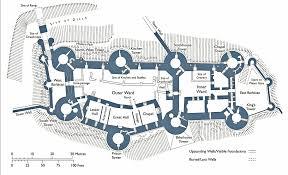 conwy castle plan research pinterest castles