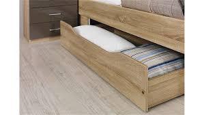 Schlafzimmer Komplett Sonoma Eiche Set Arona Sonoma Eiche Und Lava Hochglanz 4 Tlg