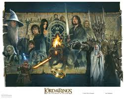 fine art rings images The lord of the rings 39 fellowship of the ring 39 unframed fi jpg
