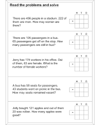 subtraction word problems word problem subtraction math worksheets