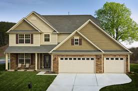 new home in charlotte nc third car garage our designs by