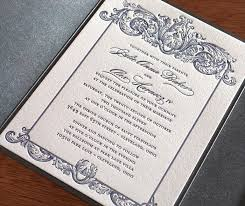 royal wedding cards custom letterpress wedding invitation gallery invitations