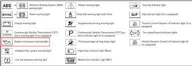 nissan rogue warning lights 2008 nissan altima dashboard warning lights cars gallery