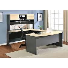 altra furniture benjamin u shape corner desk with hutch walmart com