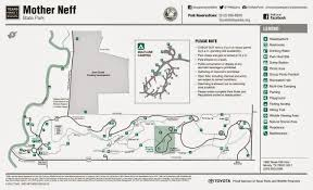 Texas State Park Map by Life On The Goat Ranch Mother Neff State Park