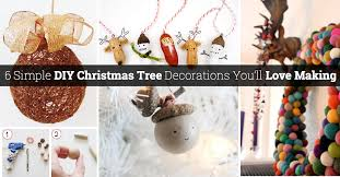 Easy Christmas Tree Decorations 50 Wonderful And Simple Diy Christmas Tree Decorations You U0027ll