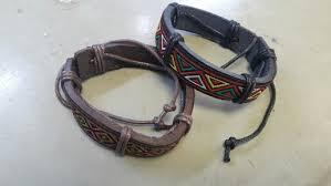 bracelet handmade leather images Nepal ethnic handmade leather bracelet jpg