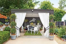 Backyard Living Ideas by Outdoor Rooms Southern Living