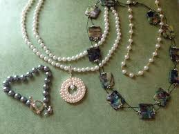 Beaded Jewelry Making - pearl and bead restringing services