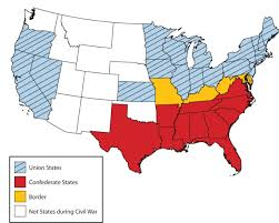 A Map Of The United States During The Civil War by Civil War In Arkansas Thinglink