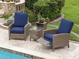 outdoor recliner chair wicker u2014 the homy design chic and cozy