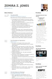Sample Resume For Ceo by President Ceo Resume Samples Visualcv Resume Samples Database