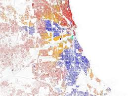 Map Metro Chicago by Most Segregated Cities Census Maps Business Insider