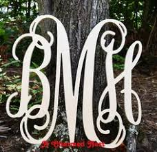 Create Monogram Initials Reasonably Priced Monogram Wood Letters And Other Monogrammed