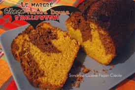 patate douce cuisine gâteau marbré choco patate douce sandrine cuisine façon créole
