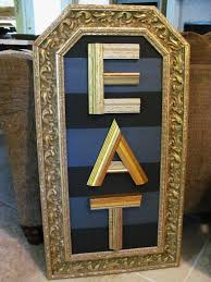 Christmas Tree Picture Frames Recycled Christmas Tree Art Diy Using Recycled Re Purposed Wooden