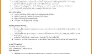 automotive technician resume exles automotive technician resumes vehicle repair sle resume