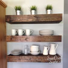 floating shelves tutorial upholstered bench custom wall and