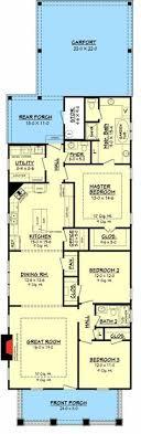 narrow lot house plans craftsman stylish plan for a narrow lot hwbdo69203 bungalow house plan
