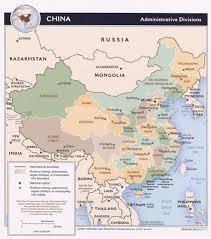 World Map China by