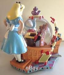 in large musical snow globe figurine 50 th